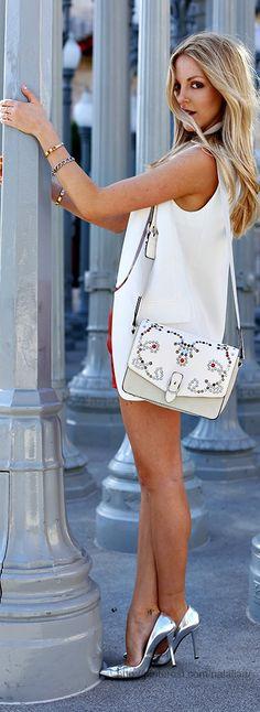 Street style - Bag: Isabel Marant <3 na