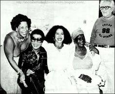 #nossasraizes Elizeth Cardoso, Clara Nunes, Clementina de Jesus, Chacrinha (fonte: sulinhacidad3.blogspot.com)