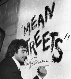 A very young Martin Scorsese