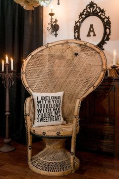 Pin for Later: You'll Be Creepily Captivated by This Addams Family Engagement Party  Photo by Marc Edwards Photographs