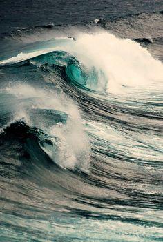 Waves for surfing Water Waves, Sea Waves, Sea And Ocean, Ocean Beach, No Wave, All Nature, Beautiful Ocean, Am Meer, Belle Photo