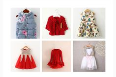 New girl style dresses for fall! Adorable for family photo outfit ideas