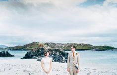 """John and Neasa explored the region together, island-hopping around the west of Ireland in the summer. 'When we found Inishbofin, we thought it was the perfect location,' Neasa says.   