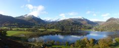 Ullswater from Place Fell November 2012 Lake District, British Isles, More Pictures, Most Beautiful, England, Snow, River, Mountains, Awesome