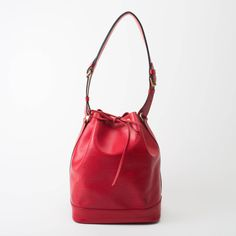 Louis Vuitton Noe In Red Epi