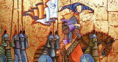 Art by Zayasaikhan Sambuu Mongolian painter