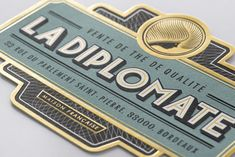 La Diplomate on Packaging of the World - Creative Package Design Gallery