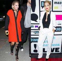 Rita Ora In Emmanuel Ungaro & Michael Kors – 'Watch What Happens Live'