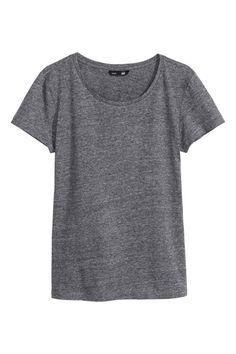 T-shirt en jersey flammé   H&M 8
