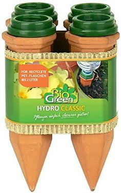 Bio Green Bewässerung Hydro Classic Tonkegel, terracotta/grün