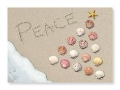 Peace on the Beach Christmas Cards, (http://www.caseashells.com/peace-on-the-beach-christmas-cards/)