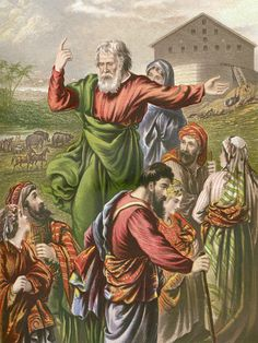How Does Archangel Uriel Warn Noah to Build an Ark? Ananias And Sapphira, Bible Tattoos, Day Of Pentecost, Archangel Uriel, Jonah And The Whale, The Transfiguration, Why Jesus, Jesus Painting, Old And New Testament