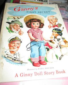 I love this! I didn't even know there was a Ginny Story Book. How cute!