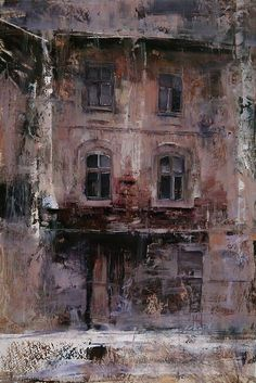 Tibor Nagy - The House- Oil - Painting entry - March 2015 | BoldBrush Painting Competition #OilPaintingTexture