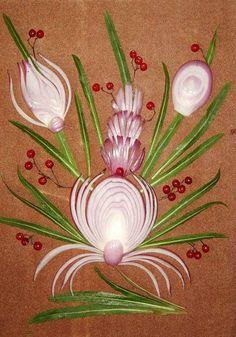14 Onion Beauty Ideas Edible Art Fruit Art Food Art
