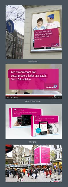 Essent Visual Identity - Portfolio of Twan Minten #Print #Branding