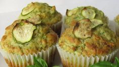 muffins aux courgettes