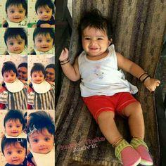 Aadvik Ajith 💜💗 Fancy Blouse Designs, Actors Images, Cute Babies, Favorite Things, Daughter, Celebrities, Children, Face, Dresses