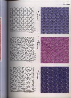 My Hobbies I Love Crochet: Over 100 free points crochet Crochet Instructions, Crochet Diagram, Crochet Chart, Crochet Motif, Crochet Doilies, Crochet Lace, Vintage Crochet Patterns, Crochet Stitches Patterns, Thread Crochet