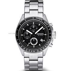 Mens Fossil Decker Chronograph Watch CH2600