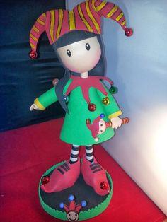 Fofuchas y otras manualidades: Muñeca tipo gorjuss juglar