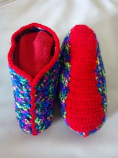Traditional Bulgarian Style Slipper Socks. Made To Order, unique and one of a kind as i never make the same design twice... https://www.facebook.com/Alia-Handmade-Designs-925102144237043/