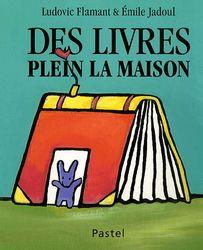 Des livres plein la maison - LUDOVIC FLAMANT - EMILE JADOUL - Chloé qui aime beaucoup les livres a bien aimé ce livre avec de belles images.