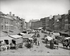 Dock Street, Philadelphia, circa 1908