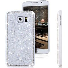 Galaxy S7 Case,Jesiya New Luxury Sparkle Powder 3D Diamond Bling Hard PC Shiny Slim Glitter Case Cover For Samsung Galaxy S7 Jesiya