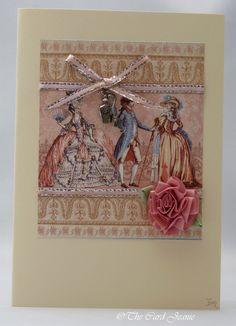 Handmade Card - Come to the Ball £2.50