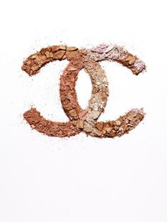 I like the simplicity of this image with the makeup making up the Chanel sign, it's simple yet eye-catching