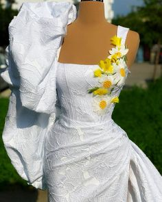 Mermaid Sequin Dress, Black Sequin Dress, White Floral Dress, Mermaid Dresses, Purple Wedding Gown, Purple Gowns, Wedding Dresses, Floral Print Gowns, Printed Gowns