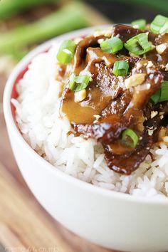 Thai Peanut Beef 5 ingredients