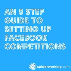 Last week I was asked to speak to the KLCK Bloggers Network about Facebook competitions. It's always a topic that gets people talking. Here's my 8 step guide to setting them up.