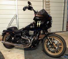 Harley Dyna, Harley Davidson Dyna, Dyna Club Style, Motorcycle Windshields, Street Bob, Custom Harleys, Lowrider, Choppers, Badass