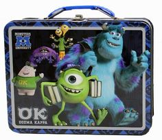 The Tin Box Company 42760712 Disney Monsters U Carry All Tin Assorted