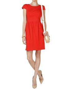 Shoshanna Antonia Dress in Red