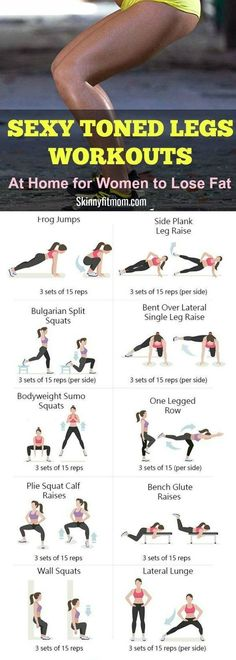 How to lose leg fat- 7 best leg workouts and exercises that work like magic Experience sexy well-toned legs in a matter of days with these simple exercises.