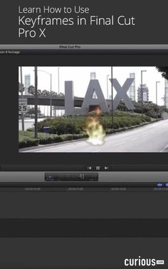 In this video editing lesson, learn how to use keyframes to add animated video overlays to your filmmaking projects using the tools in Final Cut Pro X.