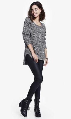 Trend Prediction 2: Leather Look Leggings  http://alienandmermaid.blogspot.com/2014/12/5-spring-15-trend-predictions.html