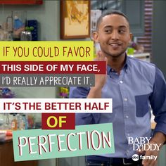 Tucker and his jokes. | Baby Daddy Quotes