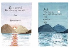 Watercolor greeting cards stay uplifted be posititve Make someone smile Greeting Cards, Sky, Smile, Watercolor, How To Make, Heaven, Pen And Wash, Watercolor Painting, Heavens