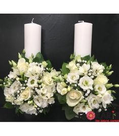 Terraria, Pillar Candles, Wedding Ideas, Weddings, Candles, Flowers, Terrariums, Wedding, Marriage