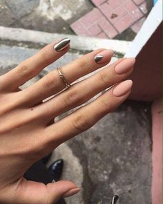 50 Trendy Nail Art designs that make you shine - Nails Design French Nails, French Manicures, Hair And Nails, My Nails, Fall Nails, Winter Nails, Nail Polish, Gel Nail, Pink Polish