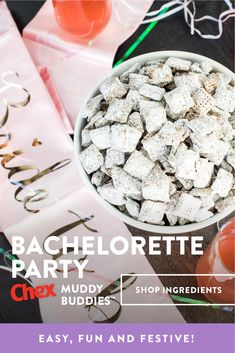 Chex Mix Recipes, Snack Recipes, Christmas Desserts, Christmas Treats, Muddy Buddies Recipe, Classic Recipe, Kid Friendly Meals, Easy Snacks, Dessert Bars