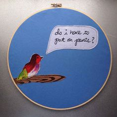 For those who understand the tyranny of society. | 23 Embroideries That Totally Get You