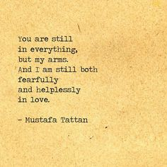 Love Fear and Insanity #81 by Mustafa Tattan
