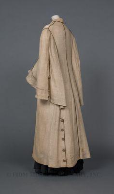 FIDM Museum Blog; Duster  Linen  1877-1880