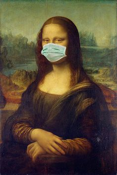 """Saatchi Art is pleased to offer the photograph, """"Corona Lisa – Limited Edition o… - Portrait Photography Art Photography Portrait, Digital Photography, Photography Tips, Mona Lisa Parody, Mona Lisa Smile, Poster S, Aesthetic Art, Art Forms, Paper Art"""