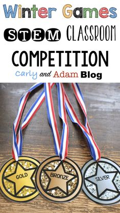 How to Organize a Winter Games STEM Competition in Your Classroom Science Lessons, Teaching Science, Teaching Tips, Stem Activities, Writing Activities, Carnival Activities, Competition Games, Classroom Freebies, School Classroom